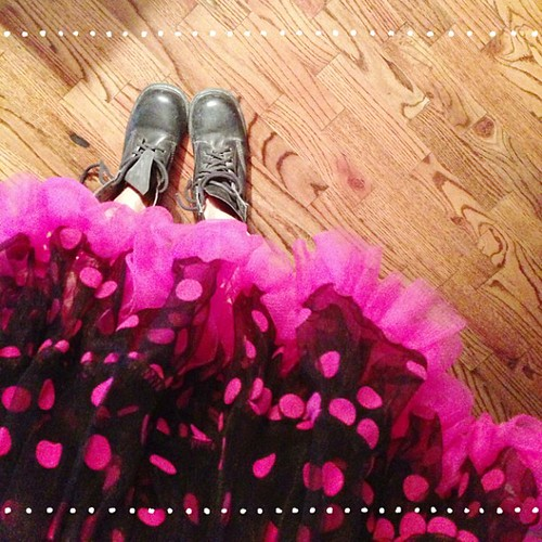27/30. A #tutu and #docmartens must mean prepping for #burningman #burningman2013 #ABeautifulMess #fromwhereistand