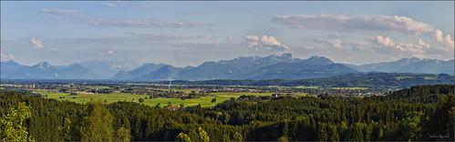 leica panorama germany deutschland bavaria abend sommer oberbayern gebirge m9 oberland inntal wendelstein irschenberg kaisergebirge kleinhöhenrain leicateleelmaritm90mmf28ii colorefexpro4 captureone7