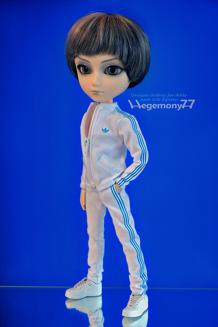 Taeyang doll in one sixth scale custom tracksuit