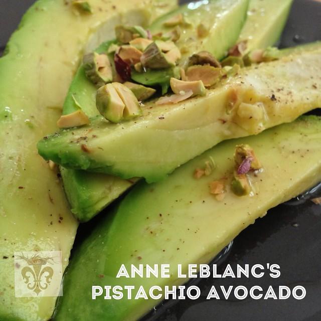 Anne Leblanc's Pistachio Avocado