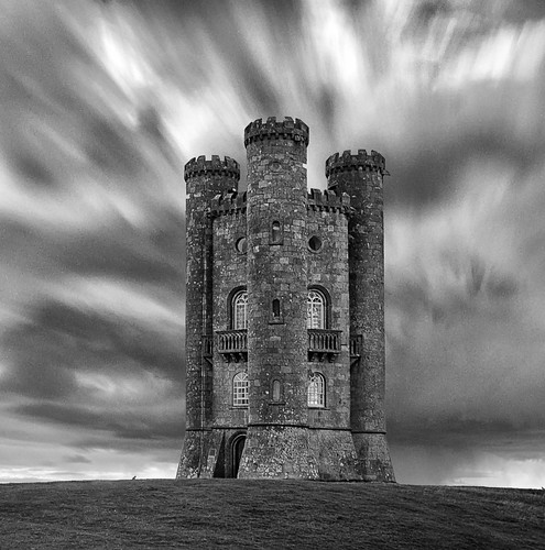 longexposure bw white black mono nikon broadway cotswolds le worcestershire broadwaytower 10stop d7000 jactoll