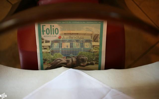 Mandaloun Restaurant / Jacksonville, Florida / OutsideTheDen.com