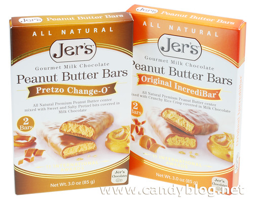 Jer's Peanut Butter Bars - Pretzo Change-0 and Original IncrediBar