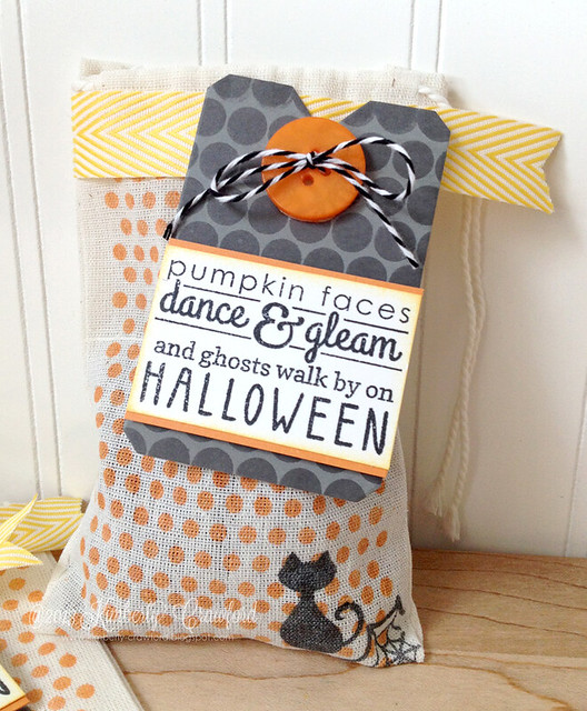 Halloween Treat Bags cu 2 Reverse Confetti by Kimberly Crawford