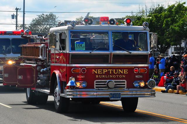 City of Burlington Fire Department Neptune Hose Company No. 5 Engine 9052