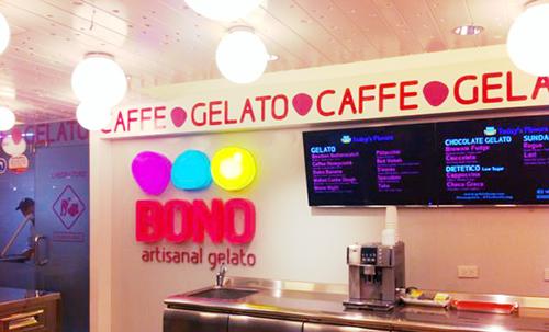 BONO artisanal gelato at SM Makati
