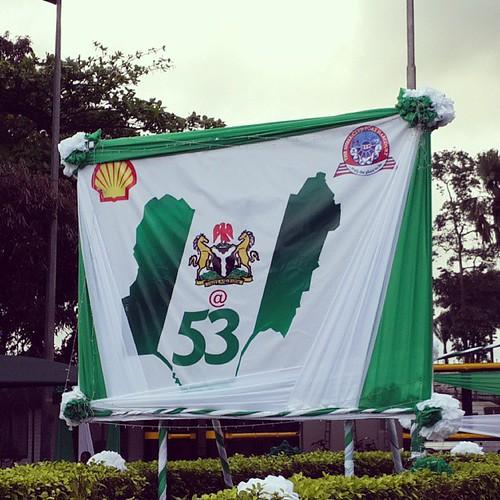 #greenwhitegreen. #naija at 53. #happyoctoberfirst. #celebrations #nigeria