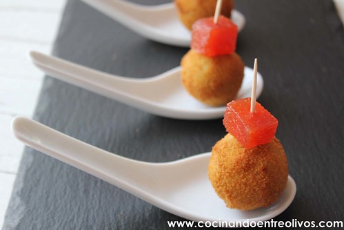 Croquetas de cabrales www.cocinandoentreolivos (2)