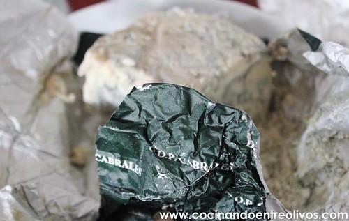 Croquetas de Cabrales www.cocinandoentreolivos.com