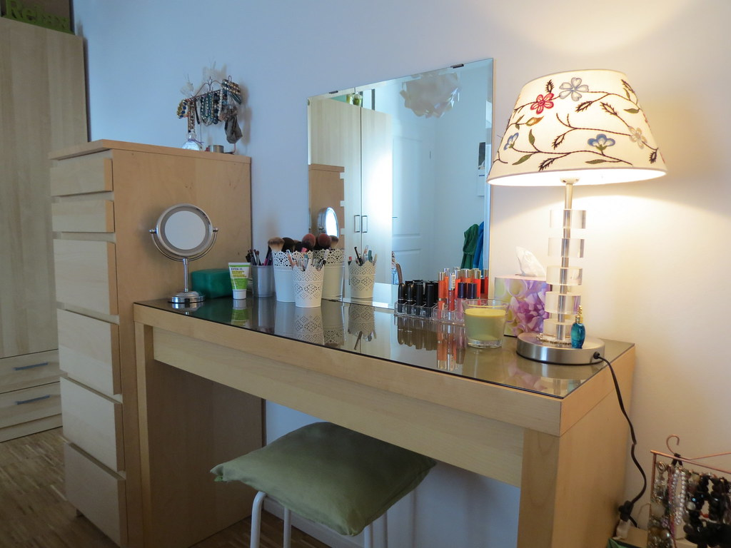 Ikea malm schminktisch  mrszapf: Mein Schminktisch - ein wahrgewordener Mädchentraum