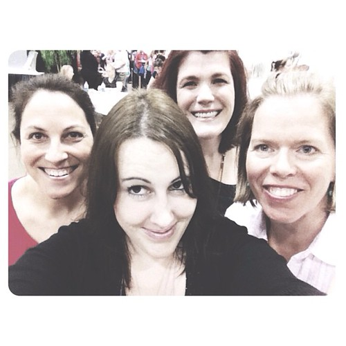 becky. a ridiculously stupid grin on my face. kim. amy. #teachntravel #iheartmyfriends #littlebitlatergram