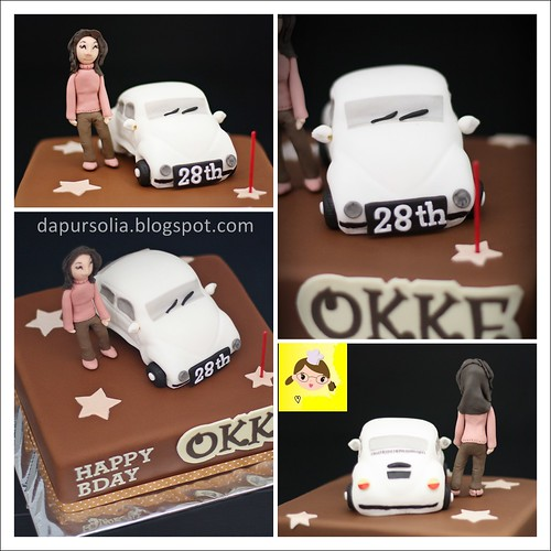 Volkswagen (VW Kodok) Cake for Okke