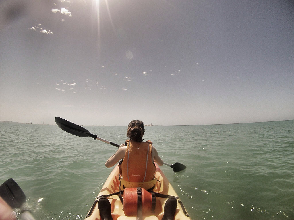 castillo sancti petri_kayak