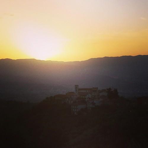 #Sunset on #SanPietroinGuarano