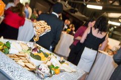 Cheese and Crackers by Marilyn Pearson of Cuisine & Company