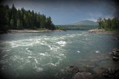 nature river russia siberia eastern sayan россия саяны сибирь пороги казыр kazyr гуляевские