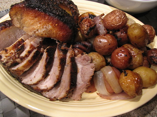 Cider Brined Pork Roast
