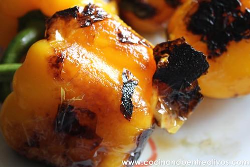 Crema de pimientos amarillos www.cocinandoentreolivos (8)