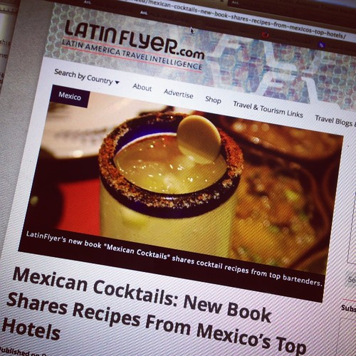Mexican cocktail recipes on travel blog