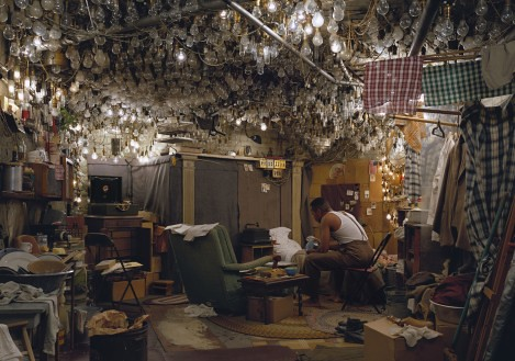 Jeff Wall, After Invisible Man by Ralph Ellison, the Prologue