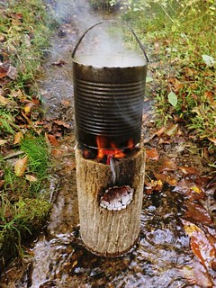 Survival Friday One Log Diy Rocket Stove Backdoor Survival