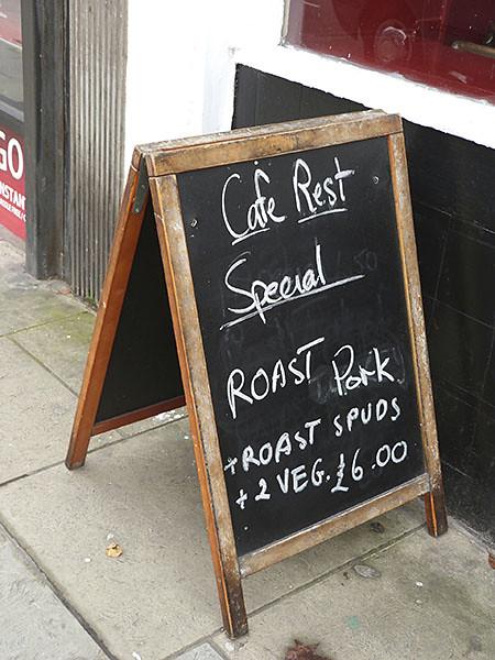 Café rest special