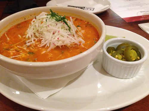 Galleria Dallas - Mi Cocina - TASTE: Red Chile Chicken Pozole