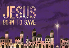Church Christmas Ideas: Jesus Born to Save design