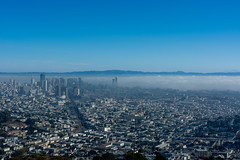 City in a sky