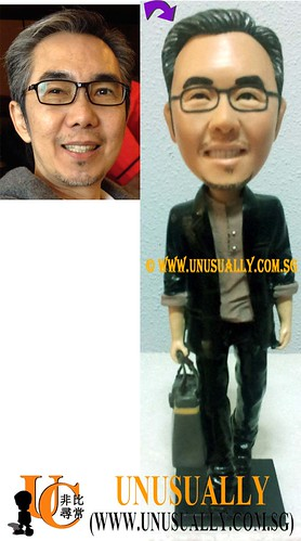 Unusually Custom 3D Smart Fashionable Male Figurine - @www.unusually.com.sg