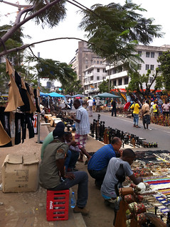 象牙市場。圖片來源:中外對話