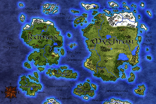 The Lands of Mythron