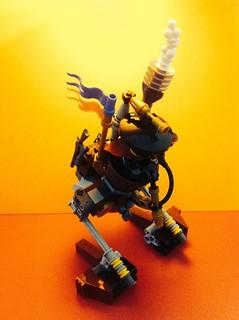 Lego Steampunk Personal Walker 2k