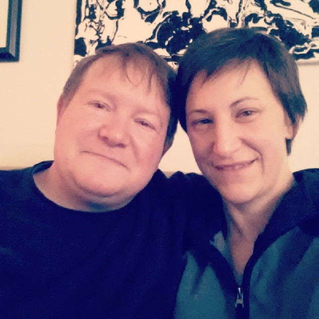 Happy New Year from Greg and Katie!