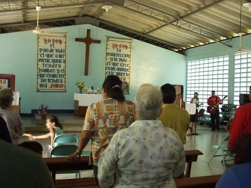 Worship at Ascension Lutheran Church.