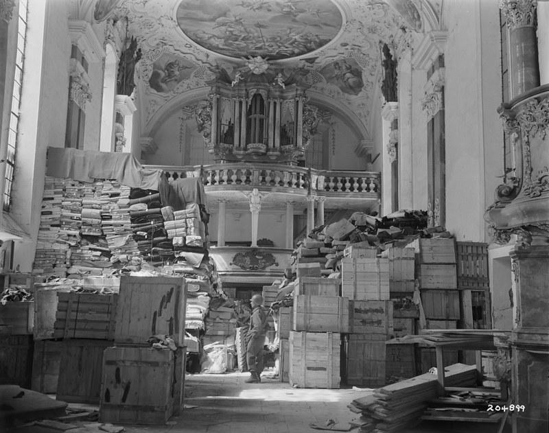 Arte saqueado por los nazis Monuments Men