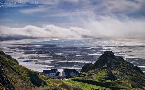 sea beach nature fog landscape nikon jersey channelislands stouen d3000