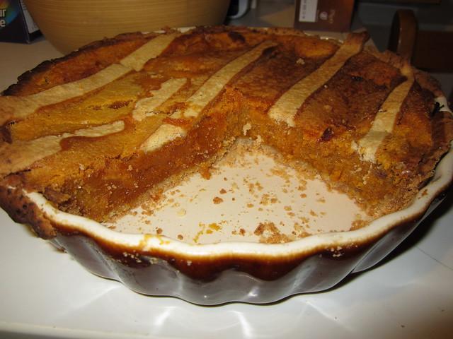 Butternut Squash Pie - Pic 1