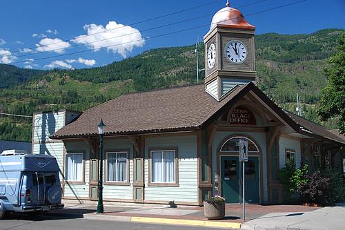 Village Office, Lytton, Gold Country, Thompson Nicola, British Columbia, Canada