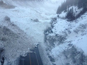 AK's Richardson Hwy Avalanches