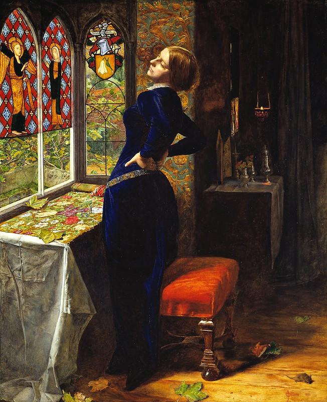 John Everett Millais - Mariana (1851)