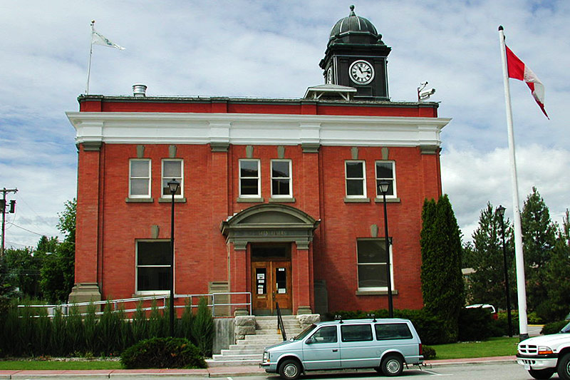 Grand Forks City Hall, Grand Forks, Boundary Country, British Columbia, Canada