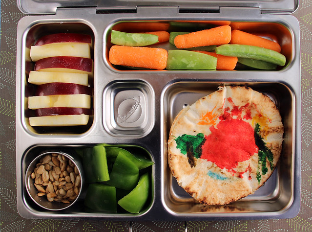 "Preschooler ""I Decorated it Myself"" Bento #588"