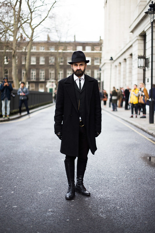 Street Style - Florin Dobre, London Collections: Men