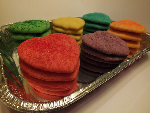 Jello Cookies for the Valentine Parties