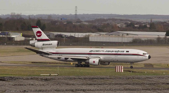 The Last McDonnell Douglas DC-10 at Birmingham Airport