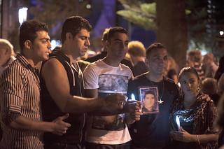 Reza Barati Vigil Perth