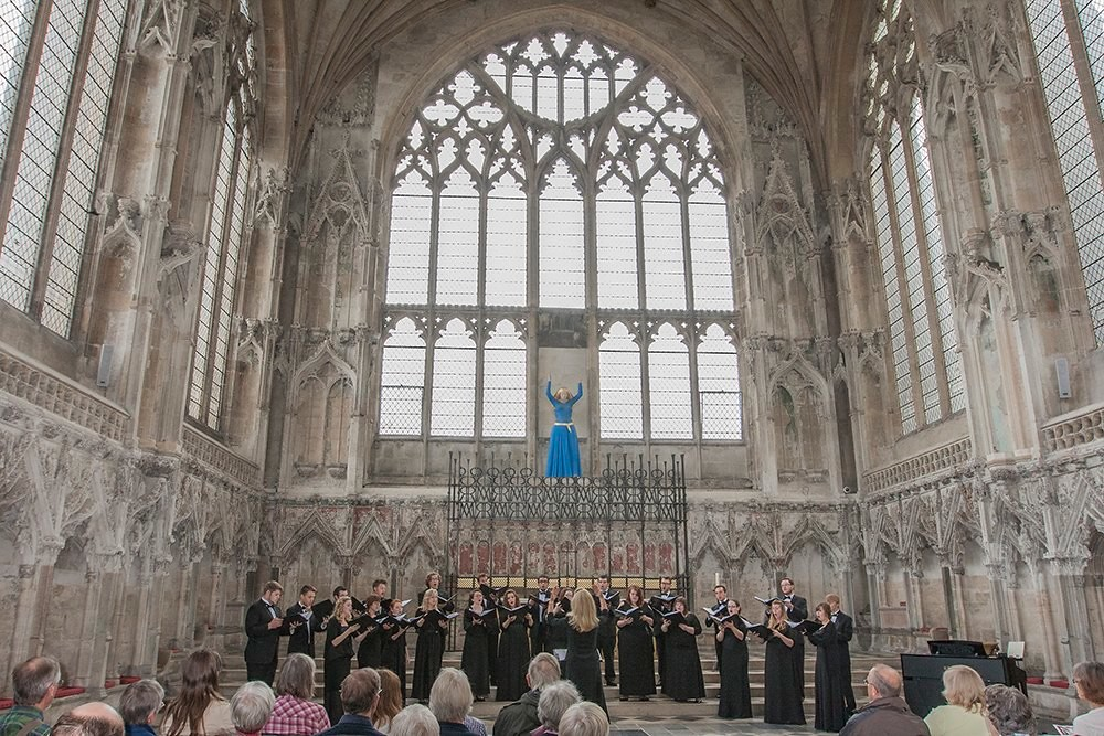 Univerersity of Nebaraska-Lincoln Chamber Singers performs in the Lady Chapel of Ely Cathedral