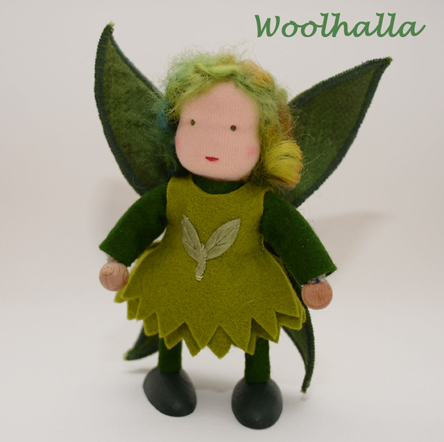 Fairy Leaf Dollhouse Doll