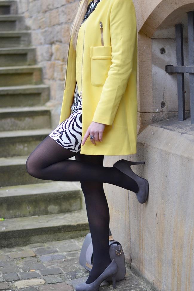 Aufs Zebra gekommen Kleid (1)